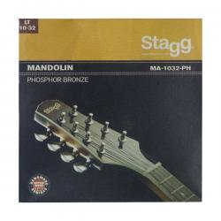 Струны для мандолины (10-14-23-32), фосфористая бронза STAGG MA-1032-PH