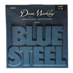 Струны для электрогитары, 9-42 DEAN MARKLEY BLUE STEEL ELECTRIC 2552 LT
