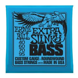 Струны для бас-гитары Nickel Wound Bass Extra Slinky (40-60-70-95) ERNIE BALL 2835