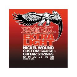 Струны для электрогитары Nickel Wound Extra Light (10-14-20w-28-40-50) ERNIE BALL 2210