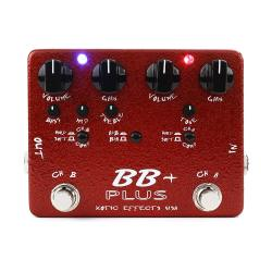 Педаль гитарная 2-Channel Overdrive XOTIC BB Plus