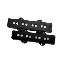 Комплект из 2-х звукоснимателей (hum-canceling) для бас гитары типа Jazz bass DIMARZIO DP149 Ultra Jazz Pair Black