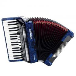 Аккордеон 3/4, 3-х голосный HOHNER The New Bravo III 72 dark blue (A16641/A16642)