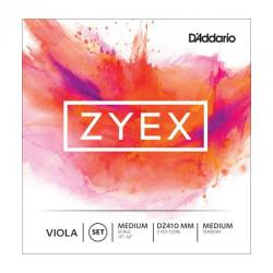 Струны альтовые, Medium, Medium Scale D'ADDARIO DZ410 MM Zyex