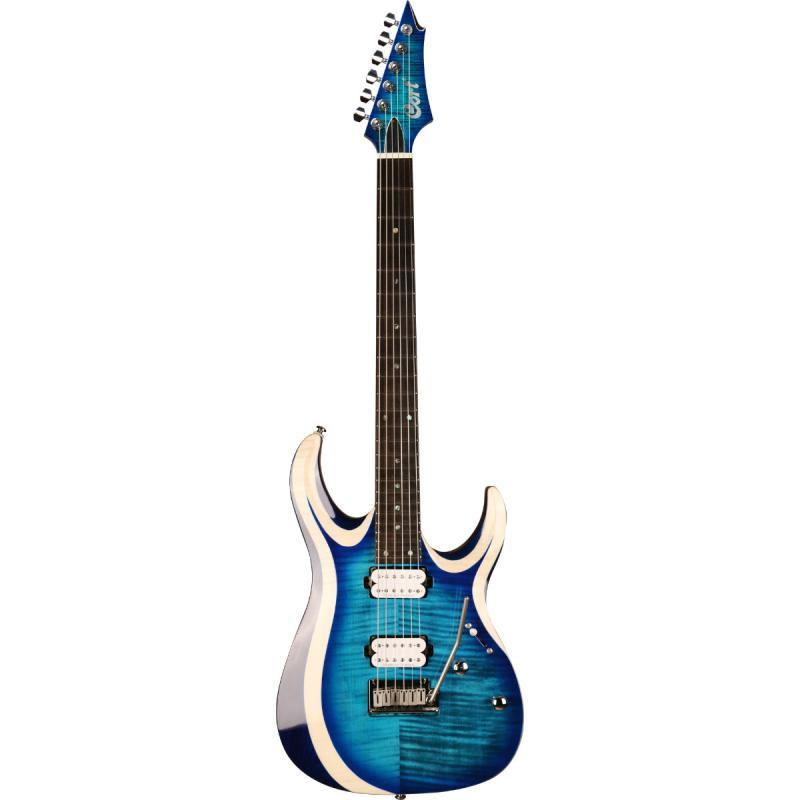 CORT X700-LBB купить по доступной цене в интернет-магазине Shamray, duality x series электрогитара, с чехлом, синяя