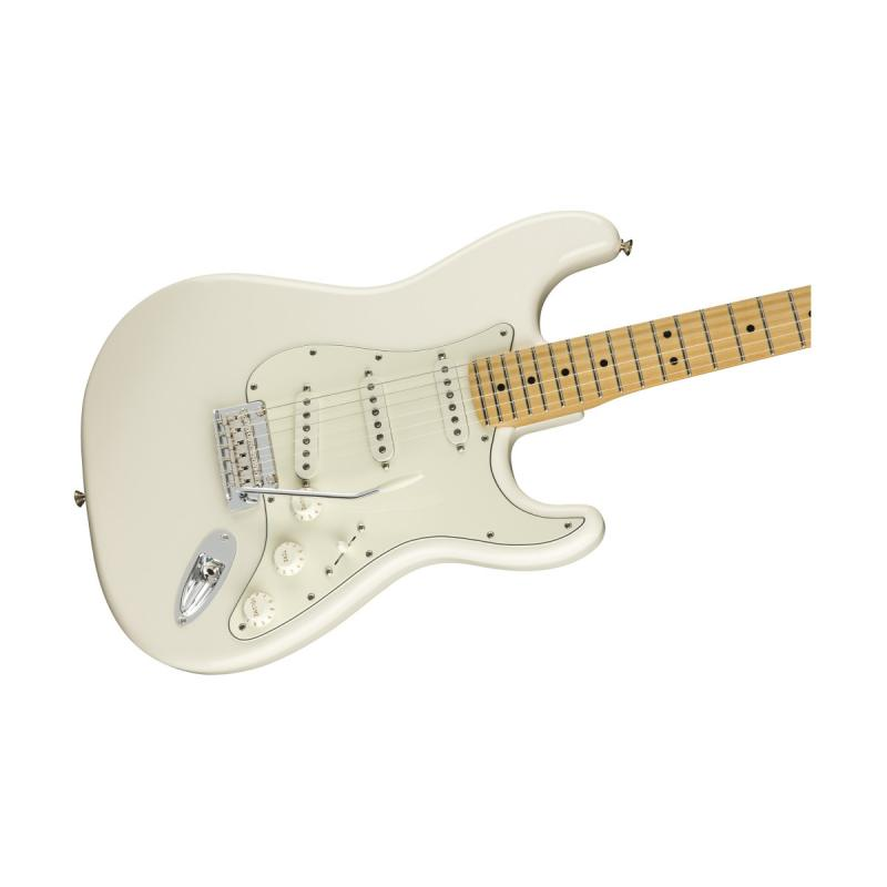 Электрогитара цвет белый FENDER PLAYER STRAT MN PWT