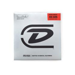 Струны для бас-гитары DUNLOP DBMMS Marcus Miller Super Bright Bass Strings 45-105