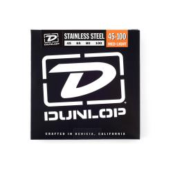 Струны для бас-гитары DUNLOP DBS Stainless Steel Bass 45-100