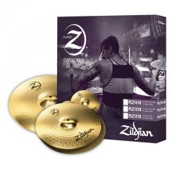 Комплект тарелок: 13' Hi-Hat, 16' Crash ZILDJIAN Planet Z PLZ1316 Cymbal Set