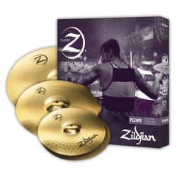 Комплект тарелок: 14' Hi-Hat, 16' Crash, 20' Ride ZILDJIAN Planet Z PLZ4PK Cymbal Set