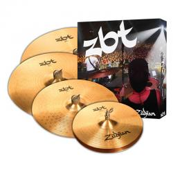 Комплект тарелок: 14' Hi-Hat, 16' Crash, 18' Crash, 20' Ride ZILDJIAN ZBT 5 Cymbal Set