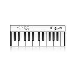 MIDI-клавиатура для iOS, Android, Mac и PC, 25 клавиш IK MULTIMEDIA iRig Keys Mini