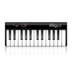 USB MIDI-клавиатура для Mac и PC, 25 клавиш IK MULTIMEDIA iRig Keys 25