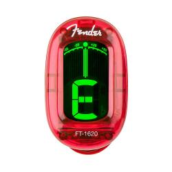 Цифровой тюнер-прищепка FENDER Califirnia Series CLIP-ON TUNER Candy Apple Red
