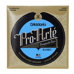Струны для классической гитары, Long lasting composite polymer, High Tension D'ADDARIO EJ-46-C